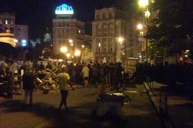Подробности ночной перестрелки на Майдане в Киеве