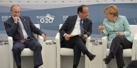 Состоялись очередные переговоры между Путиным, Меркель и Олландом