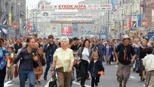 Москвичам предложат ходить пешком