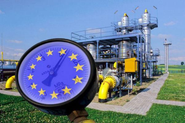 Реверс газа из Европы сократился в два раза
