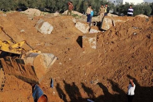 Сектор Газа выпустил шесть ракет по Израилю