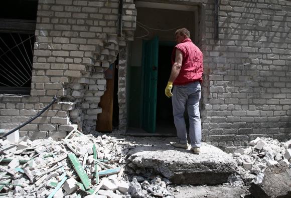 Ополченцы: украинские силовики ночью обстреляли Краматорск из установок