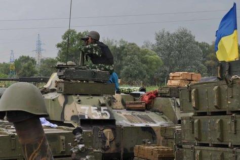 Киев заявил, что бои в Славянске продолжаются
