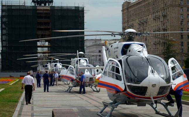 МЧС организует воздушный мост к месту аварии в метро