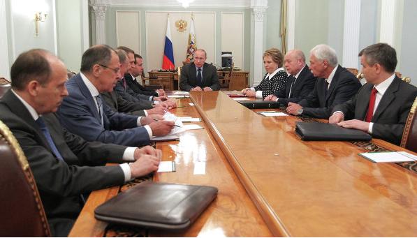 Путин собирает Совбез РФ по вопросу территориальной целостности страны