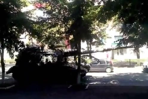 В Сети появилось видео входа танков украинских карателей в Торез