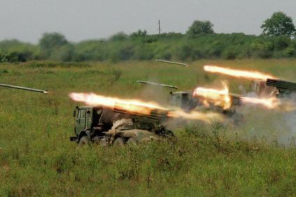 Украинская армия обстреляла из