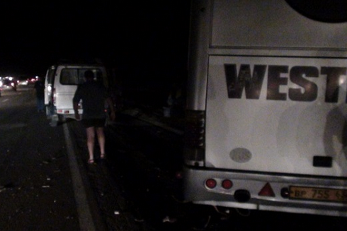 В Ростовской области автобус столкнулся с «Газелью» и минивэном: есть погибший