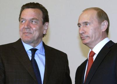 СМИ: Немецких социал-демократов беспокоят отношения Шредера и Путина