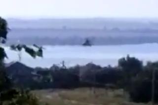 Украинские вертолеты летят в сторону Донецка