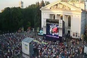 В Мариуполе на концерте в поддержку АТО Руслана бесновалась под видеоряд  убитых мирных жителей