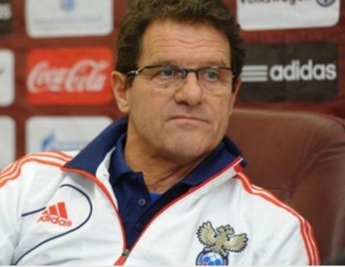 Капелло назвал окончательный состав сборной России на игры с Австрией и Венгрией