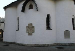 Стена Свято-Покровского харма Марфо-Мариинской обители
