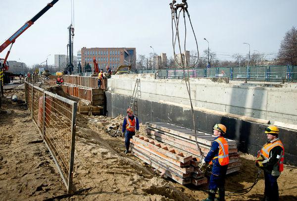 Новые развязки появятся на Волгоградском шоссе к концу 2015 года