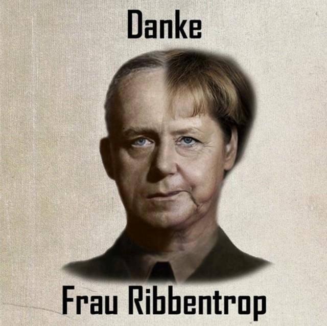 Украинцы в соцсетях «троллят» Меркель из-за России