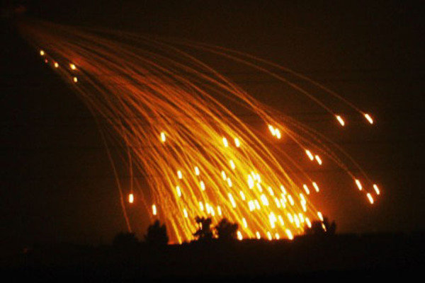 Украинские силовики попались на использовании фосфорных бомб