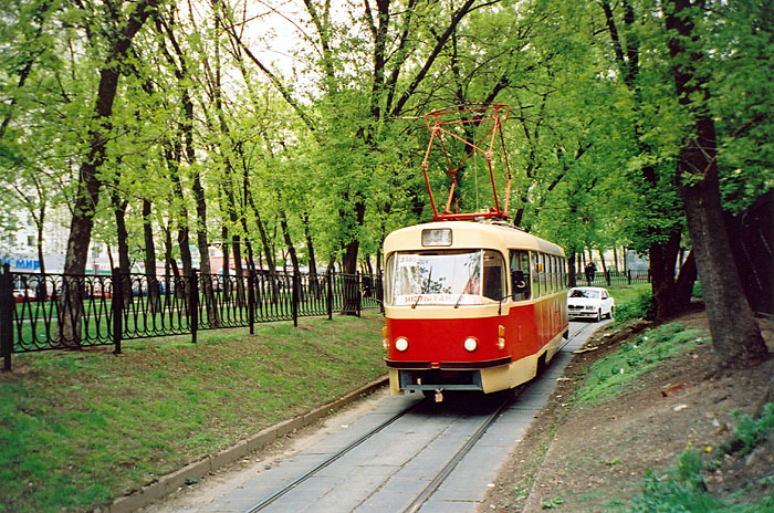 В Москве изменятся трамвайные маршруты