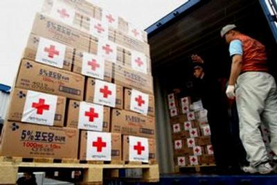 В Симферополе нашли 16 тонн ворованной гуманитарной помощи