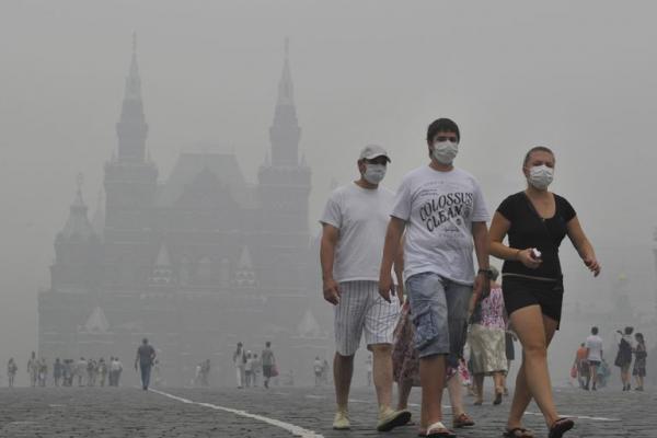 Задымление от пожаров в Москве. Каковы прогнозы?