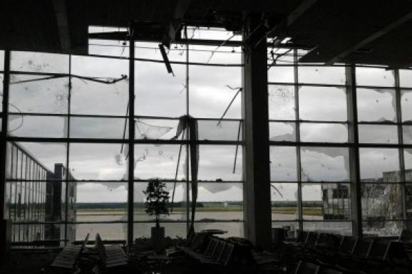 Возле Донецкого аэропорта слышны взрывы