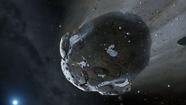 Ученые нашли фрагмент астероида, который принес на Землю жизнь