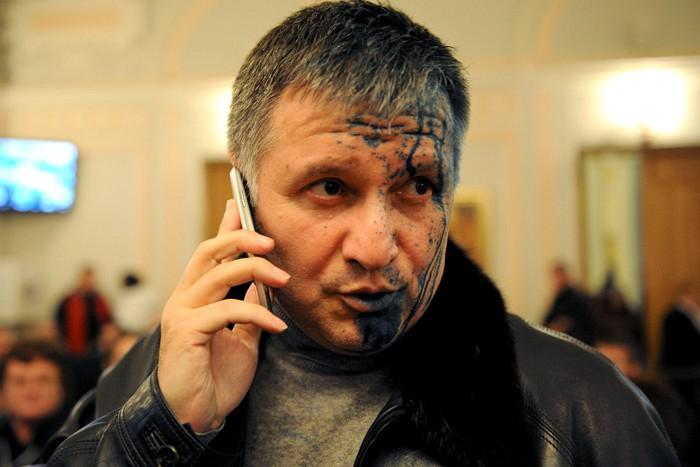 Глава МВД Украины Аваков  - сатанист?