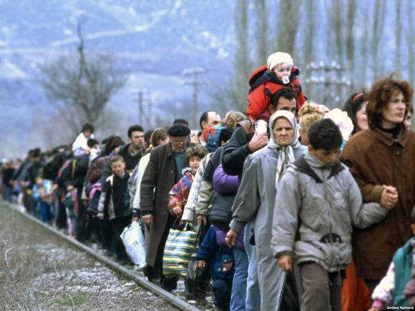 В Запорожской области беженцев возвращают на передовую?