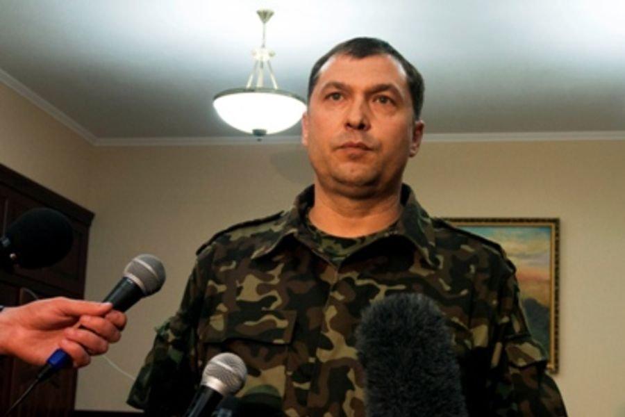 Болотов заявил, что самооборона Луганска перешла в контрнаступление