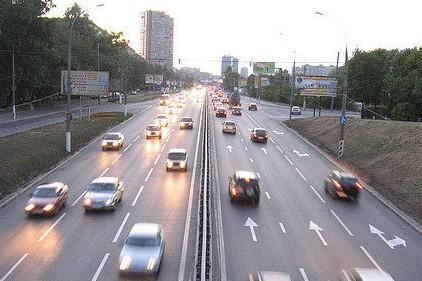 Сергей Собянин открыл эстакаду на Дмитровском шоссе