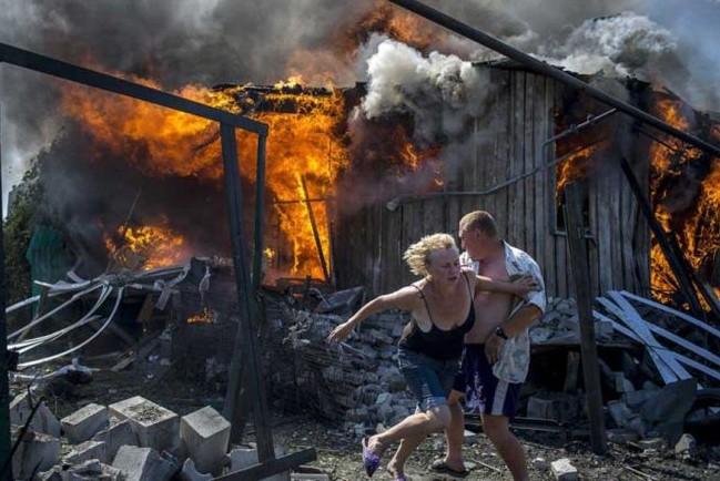 Вся правда о Донбассе в фоторепортаже от местных жителей
