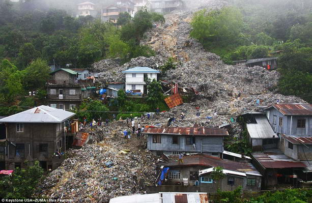 Число жертв тайфуна на Филиппинах возросло до 38 человек