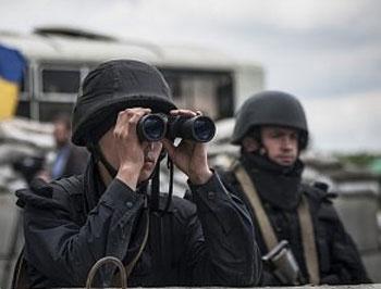 Украинские генералы оборудовали сауны и фитнес-центры в зоне АТО