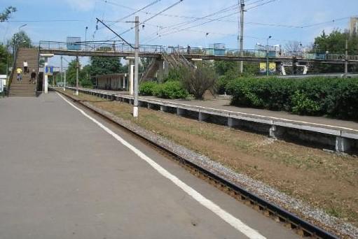 В Москве загорелась железнодорожная станция «Люблино»