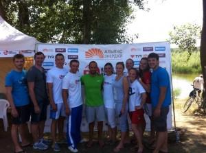 В Волгограде прошел финал международных соревнований на открытой воде «Кубок Чемпионов»