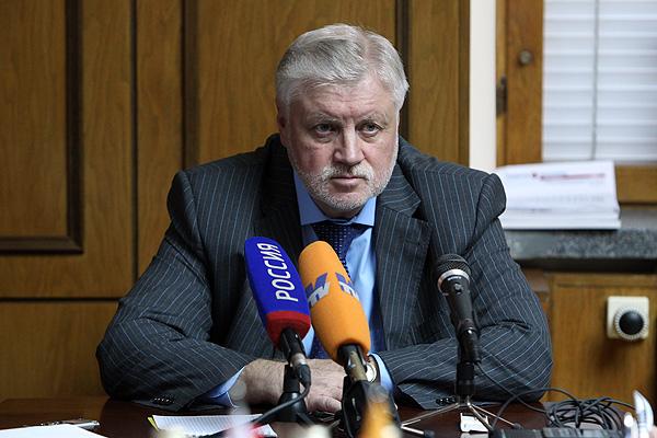 Миронов: Тульские власти сфабриковали дело в отношении Алексея Березина
