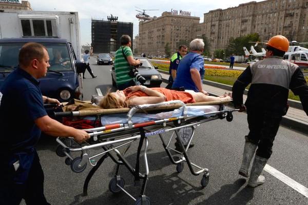 Погибших в аварии в метро не менее 19 человек