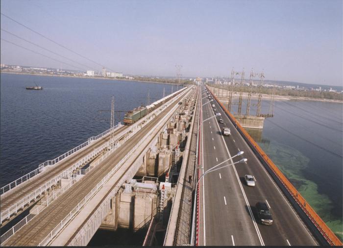 В Волгограде очередной самоубийца спрыгнул с моста ГЭС