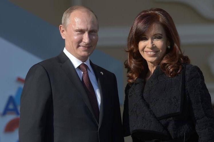 Глава Аргентины выразила благодарность России в