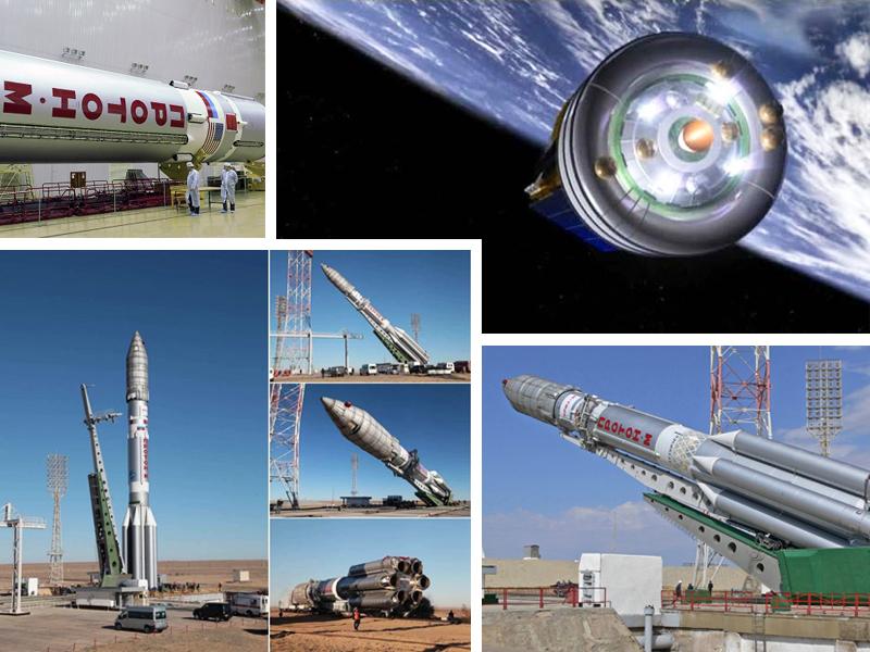 В сентябре в космос запустят тяжелую ракету-носитель «Протон-М»