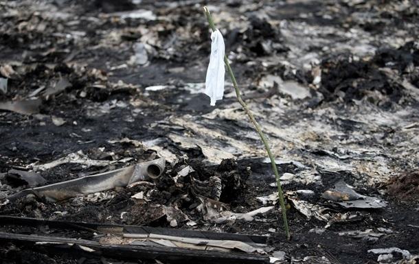 Ополченцы предложили перемирие на период расследования авиакатастрофы