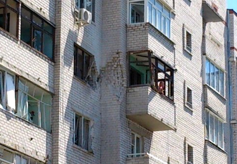 Город Северодонецк подвергся минометному обстрелу