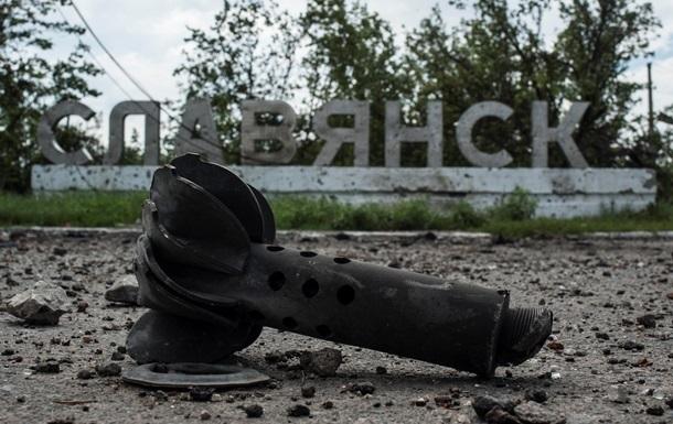 В Славянске найдены могильники c телами сотен силовиков