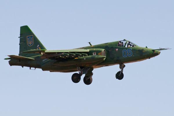 Сбит второй штурмовик Су-25 ВВС Украины