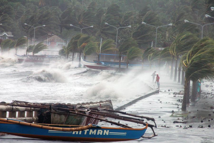 Из-за страшного тайфуна на Филиппинах эвакуировано 150 тысяч человек