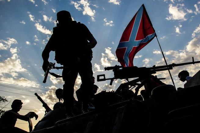 Ополченцы под Донецком уничтожили