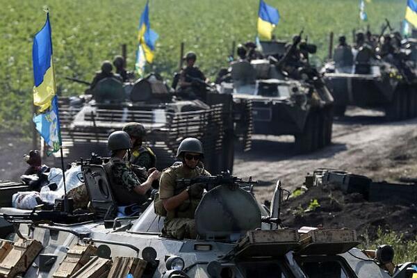 Киев вынужден отправить в бой резервы