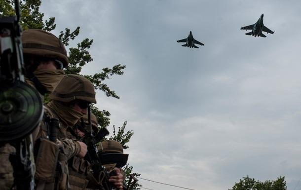 Украинская авиация нанесла ряд ударов по ополчению