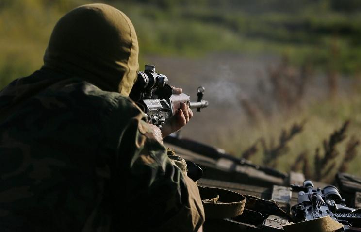 Центральная часть Горловки вновь попала под обстрел из