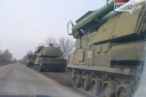 Украинскую установку «Бук» с номером 312 СБУ пытается выдать за ЗРК ополченцев?