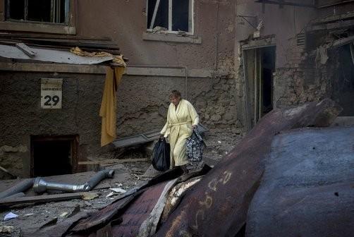 Луганск погибает в ходе спецоперации военных